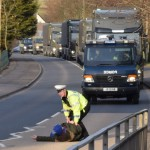 convoy stopped by Brian Q Balloch 10 March 2016